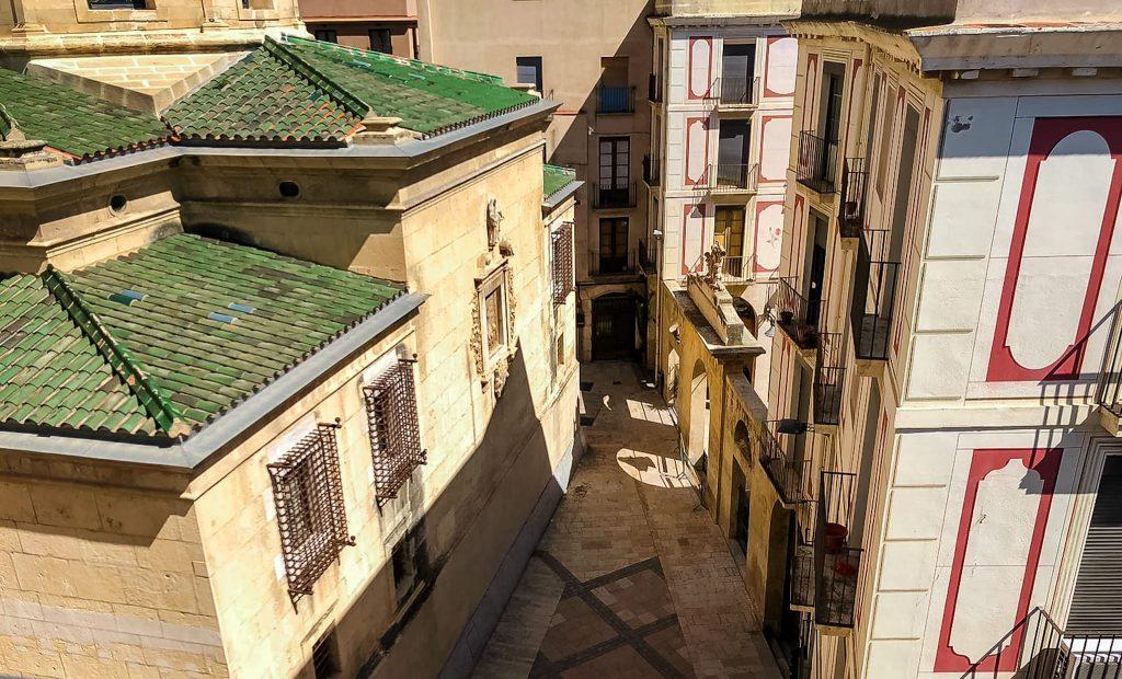Setmana Santa i el coronavirus a Reus, la Prioral.